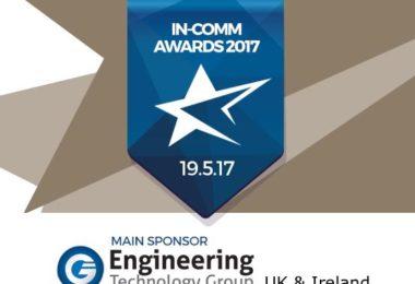 ETG announced as the main sponsor for In-Comm Awards