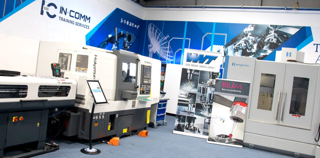 Train at world-class facilities on state-of-the-art CNC equipment