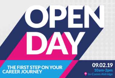Come to our Open Day on Saturday 9th Feb 2019
