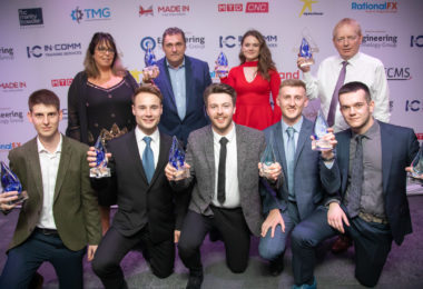 Birmingham engineer takes the main prize at In-Comm Training Awards