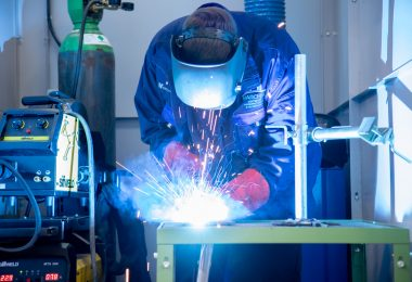 Welded to the job as apprentices secure regional first