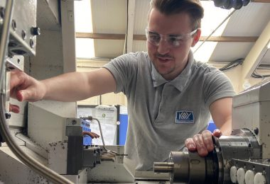 CNC apprentice is key to Cannock's firm's ventilator push