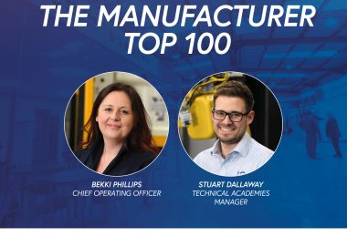 In-Comm Training duo recognised as Top 100 Manufacturers in the UK!