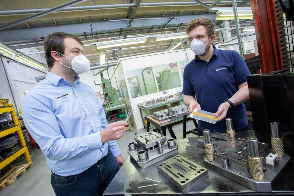 In-Comm Apprenticeships: Apprentice Power' helps Brandauer secure £500,000 'nose clip' reshoring opportunity