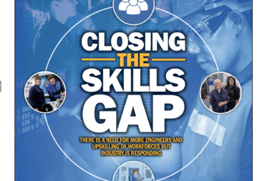 Skills shortage, but action – In-Comm appear as the cover story in this months Machinery Magazine