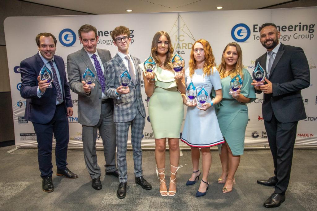 in-comm award winners 2021